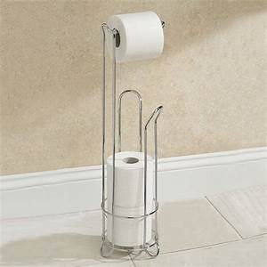 Electroplating, Stainless, Steel, Toilet, Paper, Holder, Bathroom, Tissue, Storage, Stand, At, Banggood