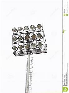 Stadium floodlights royalty free stock photo image