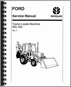 Ford 555 Backhoe Parts Manual