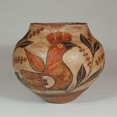 Early 20th Century Zia Pueblo Zia Pueblo Pottery C3753 04 Adobe Gallery Santa Fe