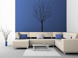 Wandgestaltung Im Wohnzimmer : wohnzimmer wandgestaltung ~ Sanjose-hotels-ca.com Haus und Dekorationen