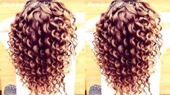 chopstick hair curler how to do spiral curls curling wand hair tutorial