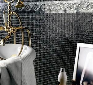 Mosaik Fliesen Schwarz : designer badezimmer fliesen glanz und stil im bad ~ Eleganceandgraceweddings.com Haus und Dekorationen