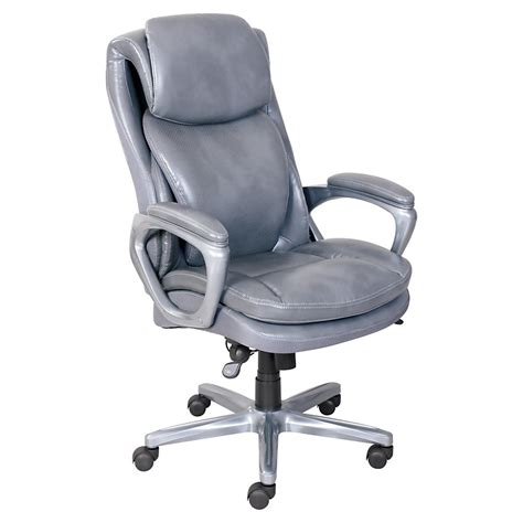 serta 174 smart layers air arlington executive chair gray
