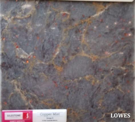 lowes silestone copper mist blue countertops silestone