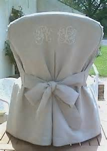 Patron Housse De Chaise Mariage Gratuit by Tuto Couture Housse Fauteuil