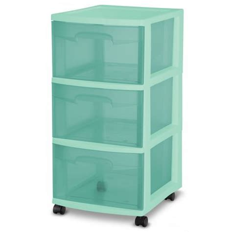 sterilite 3 drawer cart sterilite 3 drawer cart walmart ca
