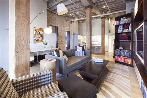 Great Colors For Living Rooms by Urban Loft Style Apartment For Big Family In New York City