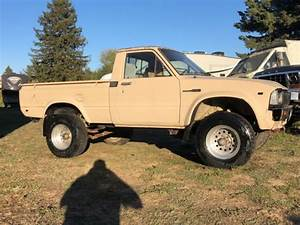 82 1982 Toyota Pickup Truck 4x4 Short Bed Manual