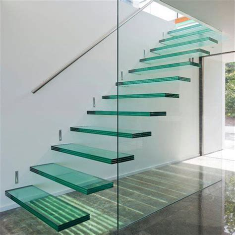 Treppenstufen Aus Glas by China Interior Modern Floating Staircase Tempered Glass
