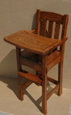 build  homemade high chair    honey  list wood pinterest chair