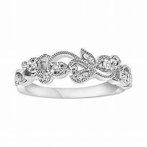 vera wang flower wedding ring simply vera vera wang 14k With simply vera wang wedding rings
