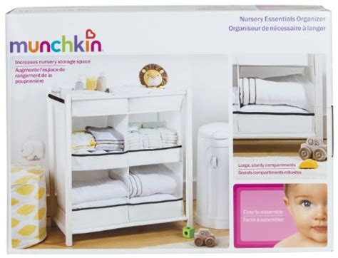 Munchkin Nursery Essentials Organizer  Import It All