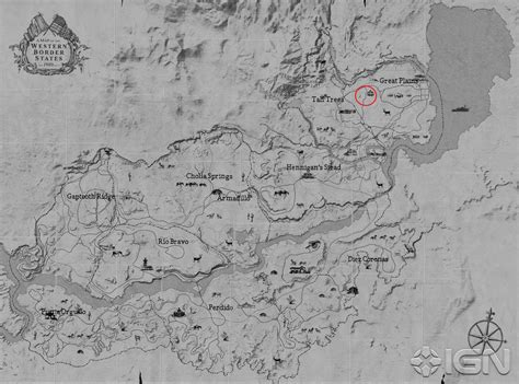 Red Dead Redemption 2 Leaked Map Appears To Be Genuine Vg247