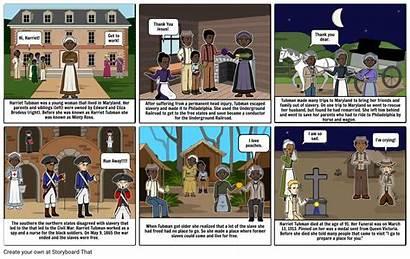 Harriet Tubman Storyboard Slide