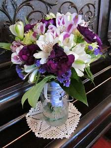 Wedding bouquet of green hydrangea, white roses, dark ...