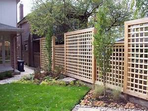 square lattice fence Landscaping and Outdoor Ideas