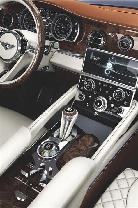 Bentley Luxury Car Interior
