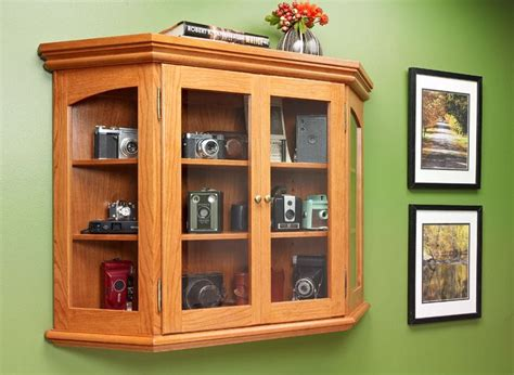 elegant curio cabinet woodworking project woodsmith