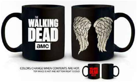The Walking Dead Daryl Wings Heat Change Coffee Mug Just Funky