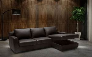 Sleeper contemporary sectional with storage under chaise for Sectional sofa with storage underneath