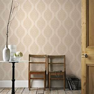 graham brown gold luna wallpaper 20 782 the home depot With markise balkon mit graham tapete