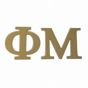 phi mu 75quot unfinished wood letter set ebay With phi mu wooden letters