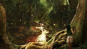 Digital art: Fantasy Art Scenery, desktop wallpaper nr. 47812