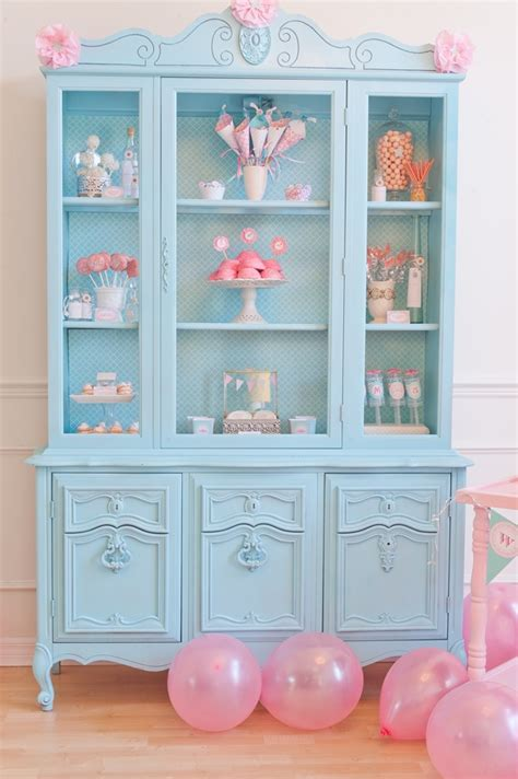 Painted Hutch Ideas - 25 brightly painted furniture ideas