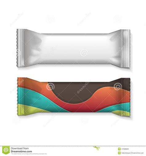 white  clear plain flow wrap plastic foil packet stock