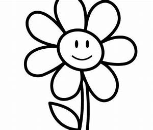 easy flower coloring pages - easy coloring pages free download best easy coloring