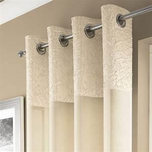 madeira cream curtain panel voile tonys textiles With voile bathroom curtains