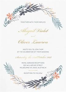 great dixter metallic wedding invitations With paper lust wedding invitations