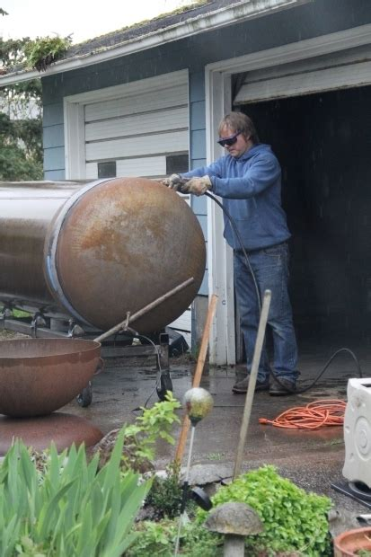 pit made from propane tank pit made from propane tank pit ideas