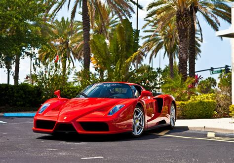 Vehicles Cars Ferrari Enzo Red Exotic-cars Wallpaper