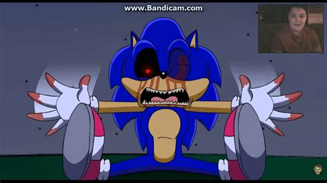 sonic exe knuckles reaction