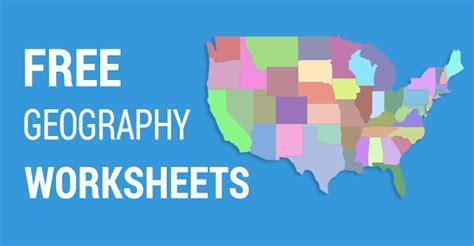 geography worksheets  explore  world  esl