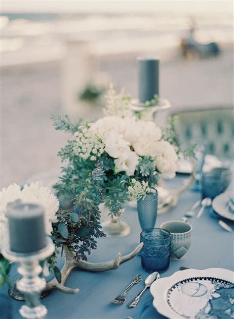 blue winter wedding color ideas bride link