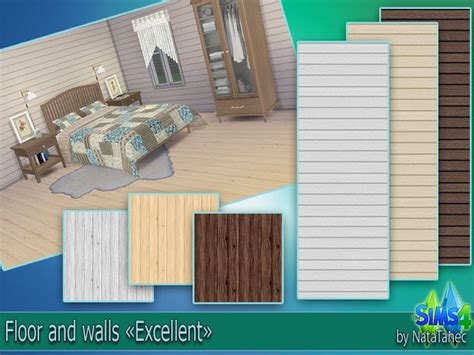 """Corporation """"simsstroy"""" The Sims 4 Floor And Wells"""