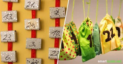 weihnachtskalender selber machen 5 upcycling ideen f 252 r selbstgemachte adventskalender