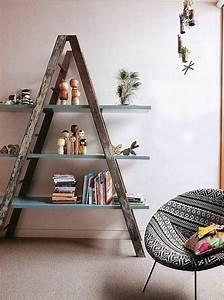 Regal Aus Leiter : regale selber bauen 73 tolle beispiele und pfiffige ideen ~ Orissabook.com Haus und Dekorationen