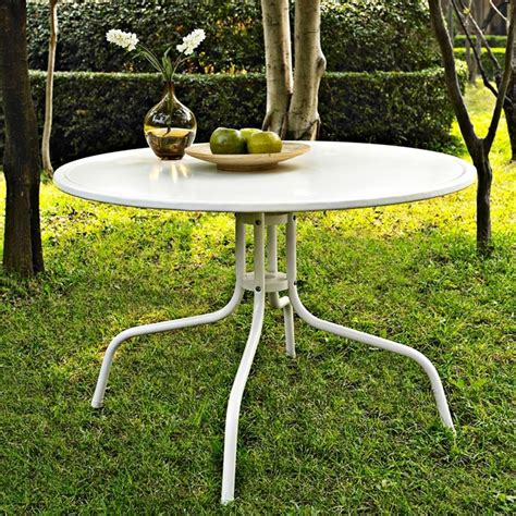 crosley furniture griffith outdoor dining table patio table