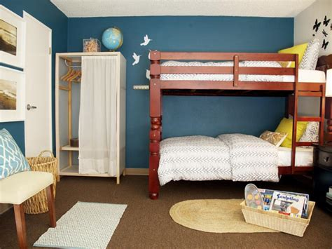 rooms to go bunk bed stylish kids bunk beds hgtv 19643 | 1400954348339