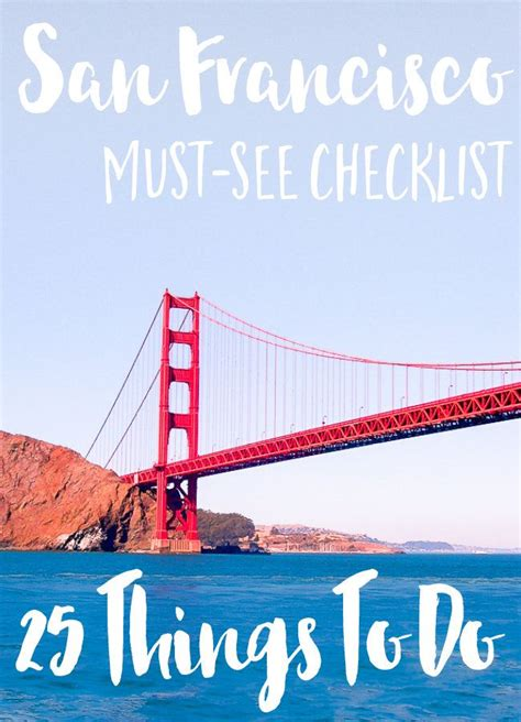 25 Epic Things To See & Do In San Francisco