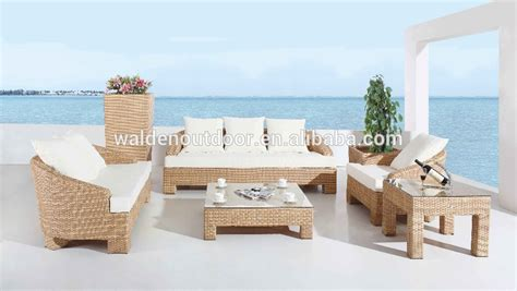 canapé de balcon pas cher en rotin jardin canapé meubles de jardin