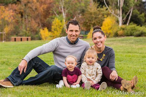 Family Portrait Family Portrait In Vasona Park Family