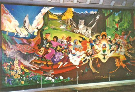 denver airport murals pictures are said to say a thousand words what do these pictures reveal