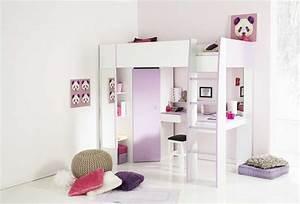 Kinderzimmer Schrank Mädchen : hochbetten mit schrank und schreibtisch f r ihre m dchen kinderm bel ideen nw homesite ~ Indierocktalk.com Haus und Dekorationen