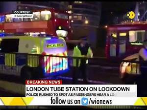 London's Old Street Station on lockdown - YouTube