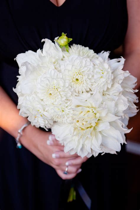 wedding bouquets  dahlias  white bouquet wedding